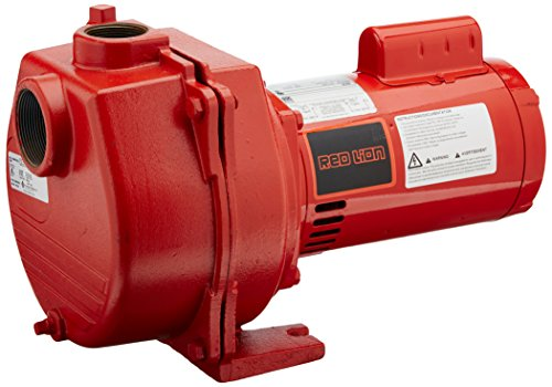 Red Lion RLSP-150 1-1/2-HP 50-GPM Cast Iron Sprinkler Pump