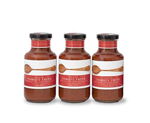Salsa De Tomate. Cortijo de Sarteneja. Pack 3 unidades. 250g
