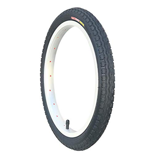 WERFFT Bicycle Tire 16/20/22/24/26 Inch 1.75/1 3/8 / 1.95/1.5 Mountain Inner and Outer Tires,16X1.75