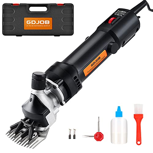 Livestock Electric Clipper,350w Professional Sheep Shearing Clippers, Pet...