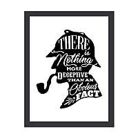 アートパネル アートポスター 壁掛け絵画 シャーロック・ホームズ アートフレーム 装飾画 インテリア絵画 部屋飾り キャンバス絵画 パネル フォトフレーム 壁ポスター 木枠セット 壁の絵 Arts 工芸用品 モダン おしゃれ