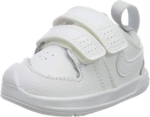 Nike Unisex Baby Pico 5 (Tdv) Sneaker, Weiß (White/White-Pure Platinum), 18.5 EU (3C UK)