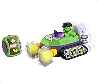 Toystate Marvel Remote Control Hero Battle Hulk Toy Car - 76106