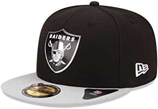 New Era Oakland Raiders 2015 59FIFTY NFL Draft Collection Black Fitted Hat Cap