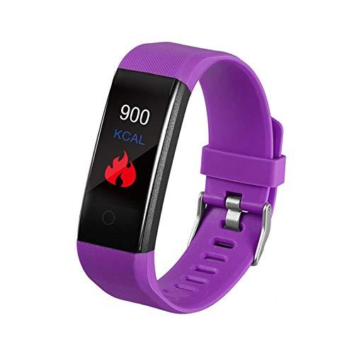 Reloj Inteligente para Hombres, Reloj de Seguimiento de Estado físico con Temperatura Corporal Monitor de sueño con Ritmo cardíaco en Sangre, Mensaje de Llamada de Seguimiento a Prueba de Agua
