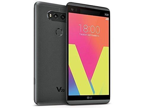 LG V20 H910 64GB Titan - Unlocked GSM (Renewed)