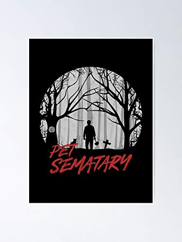 AZSTEEL Pet Sematary - Reanimated Poster | Best Gift for Family and Your Friends 12x17 inch