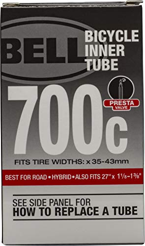 Bell 700 x 35-43c 40mm Presta Valve Standard Bike Tube  $1.96 at Amazon