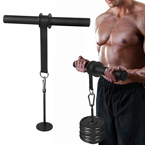 Wrist Curl Forearm Hand Roller Twister Exerciser Trainer Grip Strength Suitable