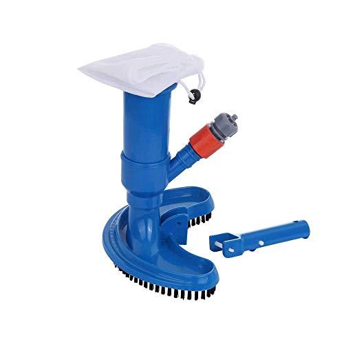 SMX Schwimmen Bürste Swimming Pool und Spa Jet Vacuum Pinsel Pool Reinigungsgeräte Werkzeugunterwasserreiniger for Spa/Splasher Practical