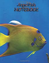 """Angelfish NOTEBOOK: Fish Notebooks and Journals 110 pages (8.5""""x11"""")"""