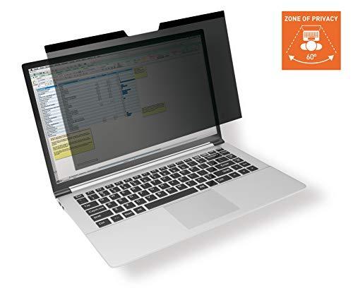 Durable Blickschutzfilter für MacBook Pro® 16, magnetische Befestigung, inkl. Tasche und Reinigungstuch, anthrazit 515757