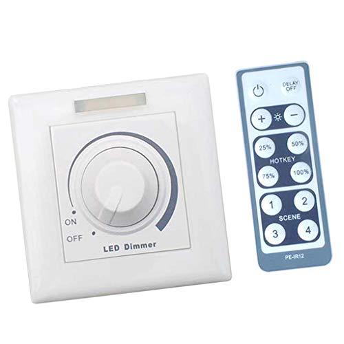 0/1 10V IR Knopf Typ Panel Helligkeit Einstellbar Dimmer Für LED Lichtleiste