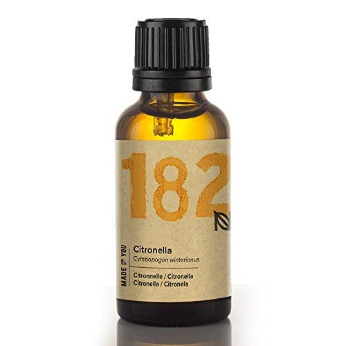 Naissance Aceite Esencial de Citronela 30ml - 100% puro, vegano y no OGM