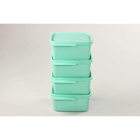1,2 L Turquesa Tupperware Caja para el refrigerador 2,5L Azul 500 ml Menta 36776