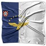 Pañuelo, diadema con la bandera de las Azores, hermosas diademas cuadradas para esquí de motociclismo deportivo, 100X100CM