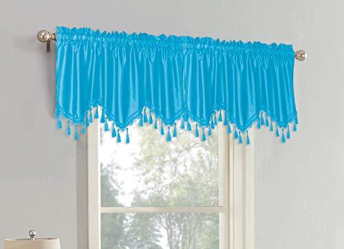 cenefa textil de la marca SALLY TEXTILES INC
