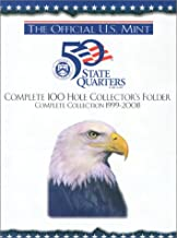 The Official U.S. Mint 50 State Quarters: Complete 100 Hole Collector's Folder, Complete Collection 1999-2008