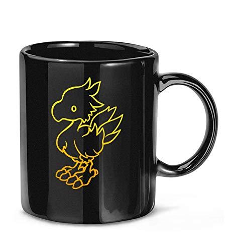N\A Final Fantasy - Taza de café Chocobo para Mujeres y Hombres Tazas de té