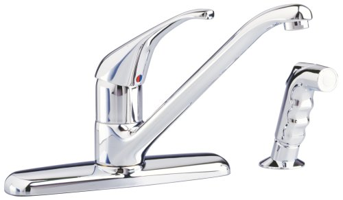 American Standard 4205001.002 Reliant+ 2.2 GPM Kitchen Faucet, 19.20 in wide x 13.70 in tall x 3.5...