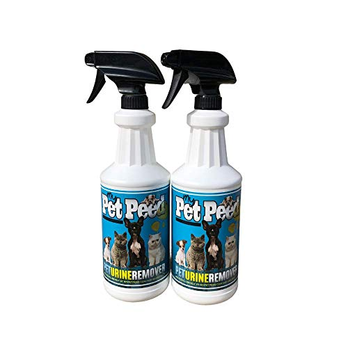 My Pet Peed - Pet Stain & Odor Remover (Two Pack - 32oz Spray Bottles)