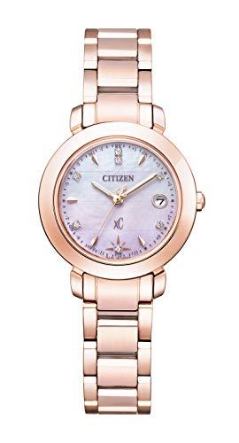 [シチズン] 腕時計 クロスシー hikari Collection エコ・ドライブ電波時計 Titania Happy Flight 限定モデル 世界限定2,500本 限定ボックス付 ES9444-50Y レディース