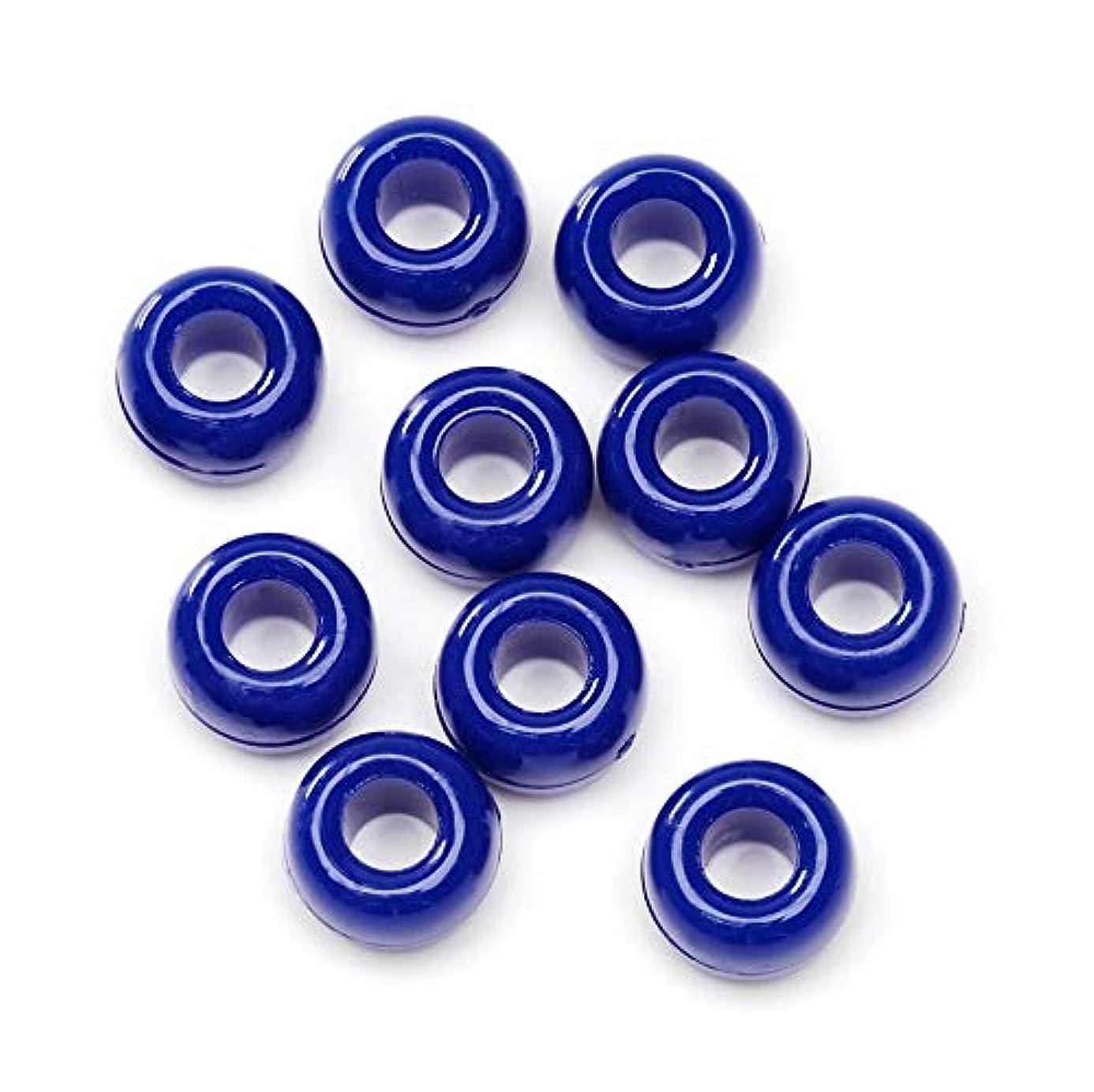 Pony Beads 06121-5-03 480 Piece 9mm Opaque, Dark Blue mzz9609549