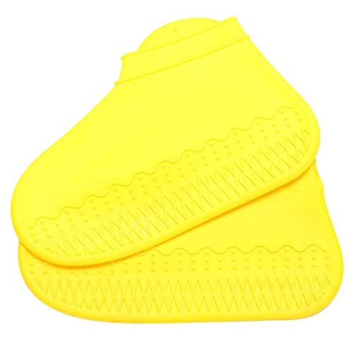 F Fityle Cubrezapatillas de Silicona Impermeables para La Lluvia para...