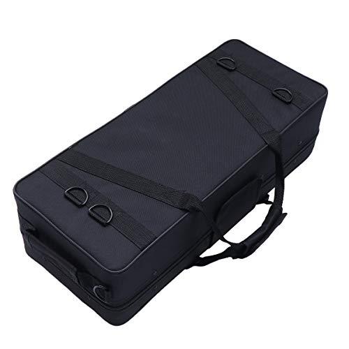 VALICLUD Chic Professional Trompetentasche Verdicken Sie Canvas Bag Tragbare Band Performance Aufbewahrungskoffer mit strapazierfähigem Griff