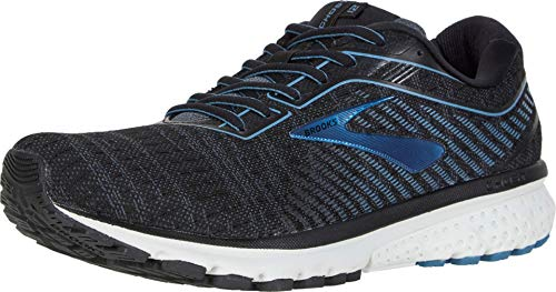 Brooks Ghost 12 Running Shoe Black/Grey/Stellar 8.5 D (M)