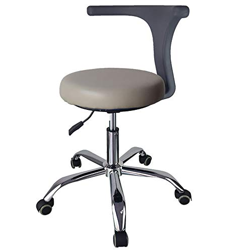 Price comparison product image Mobile Air Cushion Dental Stools PU Leather Dentistry Seat