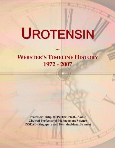 Urotensin: Webster's Timeline History, 1972 - 2007