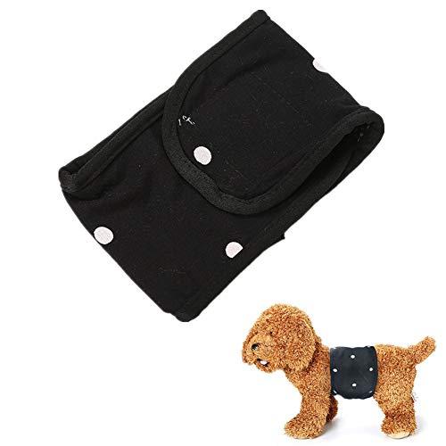 Lidylinashop Hundewindel Rüdenwindel Rüde Windel Waschbare männliche Hundeverpackung Hundesaison Hosen Hygienehosen für Hunde Waschbare Hundewindeln a,m-12