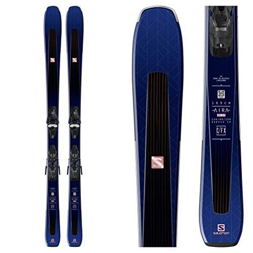 Salomon Aira 80 Ti Womens Skis with Z 11 Walk Bindings - 162cm