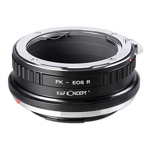 K&F Concept- Adaptador Lentes para Montar Pentax K PK a Canon EOS...