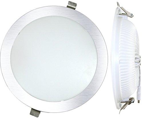 Silver Electronics Ampoule LED 3000 K, 25 W, Argent, 23 x 23 x 4.8 cm