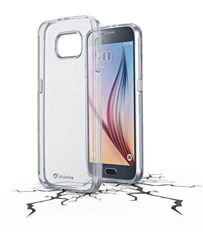Cellular Line CCLEARDUOGALS6T Clear Duo Tasche für Samsung Galaxy S6 klar