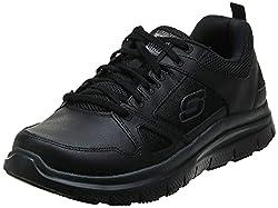 commercial Skechers Men's Work Shoes Flex Advantage Sr Black 12W USA most comfortable work shoes men