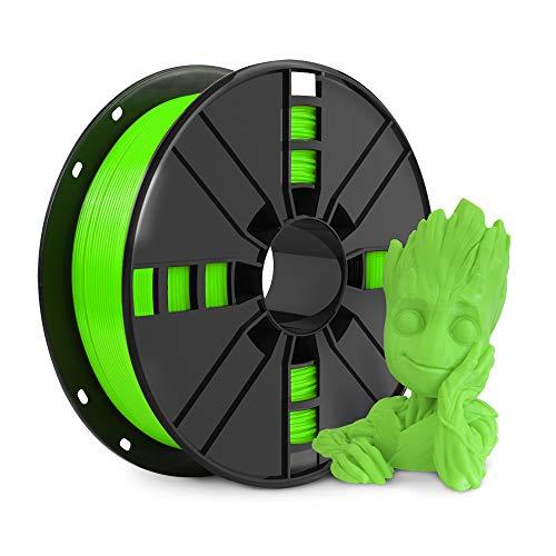 NovaMaker PLA 3D Printer Filament, Green PLA Filament 1.75m, PLA 1kg Spool(2.2lbs), Dimensional Accuracy +/- 0.03mm