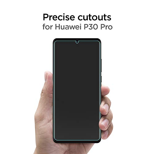 Spigen, 2 Stück, Schutzfolie kompatibel mit Huawei P30 Pro, NeoFlex, Hüllenfreundlich, TPU Folie, Wasser Installation, Vollständige Abdeckung, Huawei P30 Pro Schutzfolie (L37FL25747) - 6