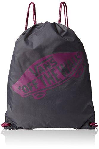 Vans G Benched Bag - Bolsa de gimnasia de cuerdas, talla 44.5 x 34 x 2 cm, 12 Litros, Negro y morado
