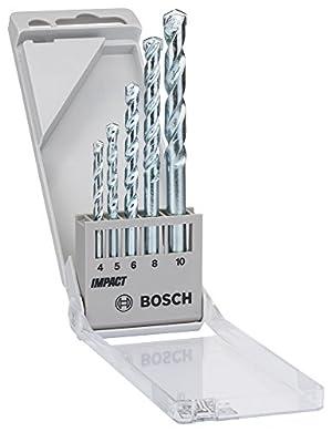 Foto di BOSCH 1609200228 - Set da 5 punte per trapano elicoidali per cemento