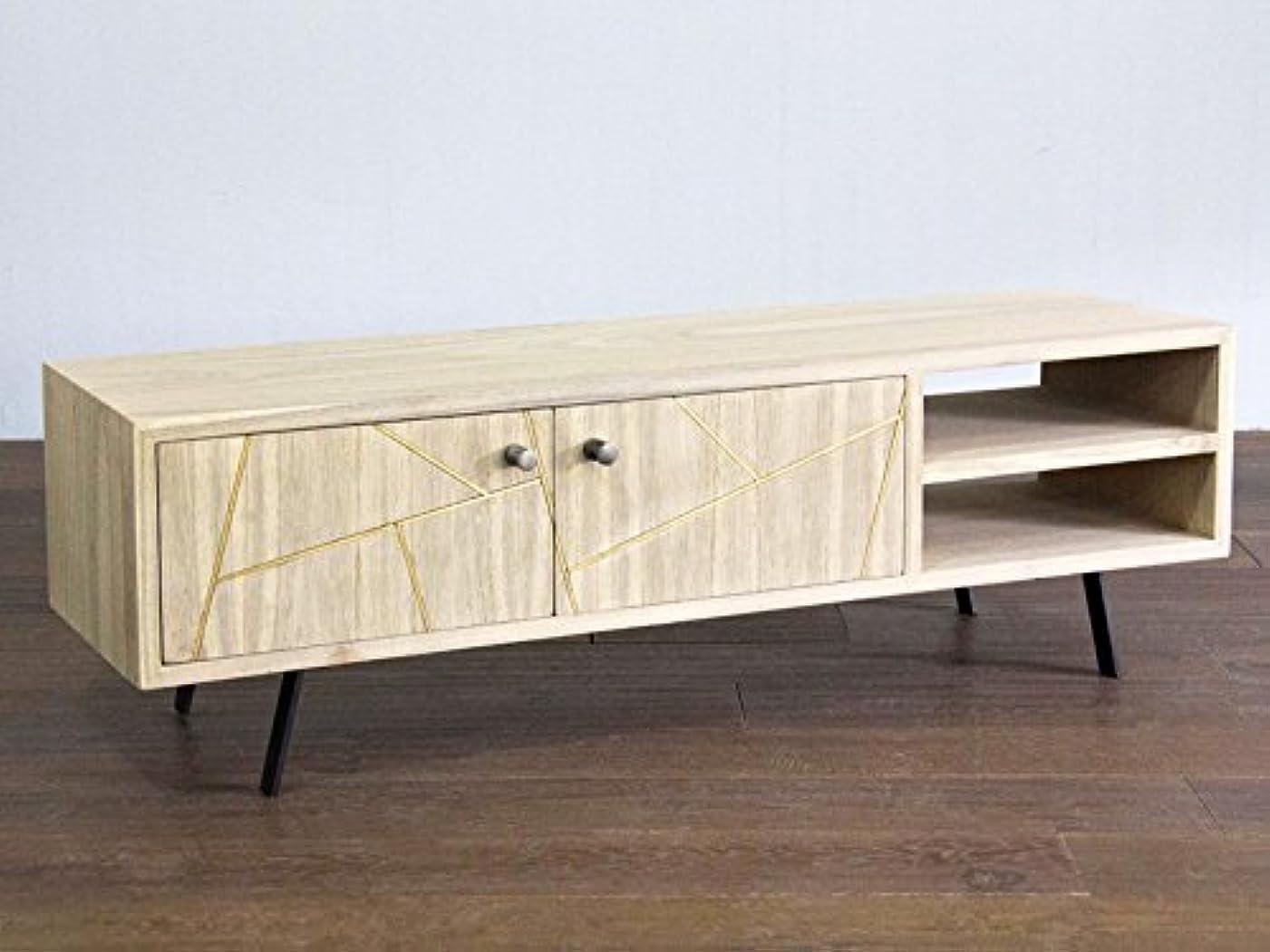 ぺディカブに応じて融合テレビボード ミンディ 木製 ワム 145cm テレビ台 TV Cabinet
