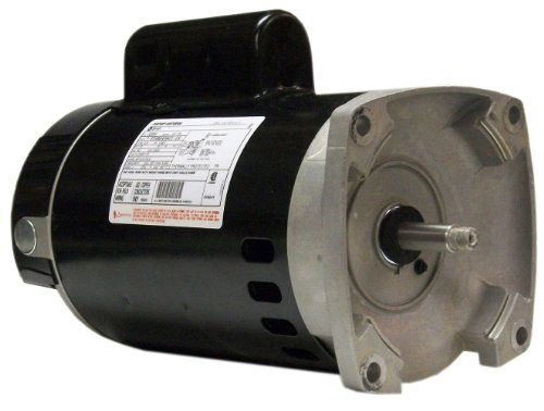 Century B2854 1-1/2 HP, 3450 RPM, 8.0/16.0 Amps, 1.1 Service Factor, 56Y Frame, PSC, ODP Enclosure, Square Flange Pool Motor