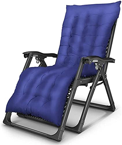 HUAQINEI Sillón reclinable Ligero de Gravedad Cero, reclinable, Silla Relajante Plegable con...