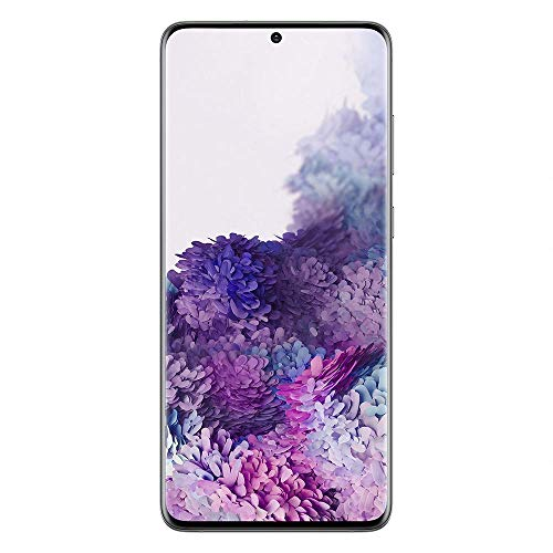 Samsung Galaxy S20+ 5G 128Go Gris - Smartphone Portable débloqué - Compatible Réseau Français - Ecran: 6,7 pouces - Double Nano SIM - Android
