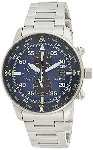 Citizen Reloj Cronógrafo para Hombre de Cuarzo con Correa en Acero Inoxidable CA0690-88L