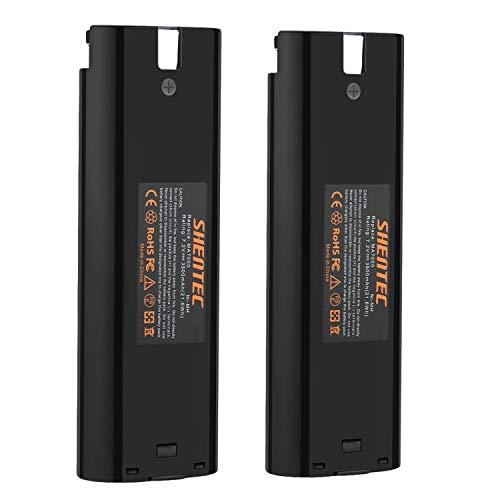 [2 pezzi] Shentec 7.2V 3500mAh Ni-MH batteria per Makita 7000 7002 7033 191679-9 632002-4 632003-2 192532
