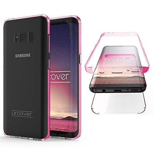 "Urcover Kompatibel mit Samsung Galaxy S8 ""Touch Case 2.0"" [Upgrade Juni 2017] 360 Grad Rundum-Schutz Full Cover [Unbreakable Case bekannt aus Galileo] Crystal Clear Full Body Handy-Hülle"
