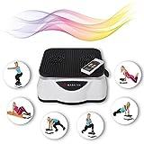 Mash Form Equipo de gimnasio para casa, estera vibrante, fitness, quemar grasa, entrenamiento para todo el cuerpo